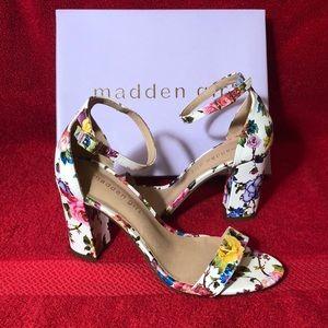 Madden Girl Two-Piece Block Heel Sandals